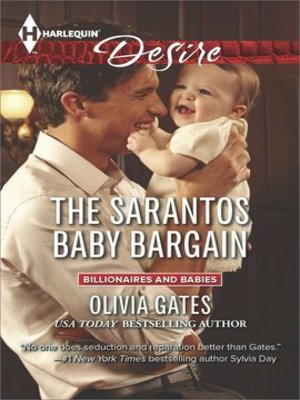 cover image of The Sarantos Baby Bargain