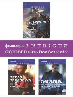 cover image of Harlequin Intrigue October 2015, Box Set 2 of 2