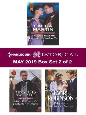 cover image of Harlequin Historical May 2019--Box Set 2 of 2