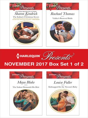 cover image of Harlequin Presents November 2017--Box Set 1 of 2