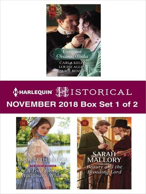 cover image of Harlequin Historical November 2018--Box Set 1 of 2