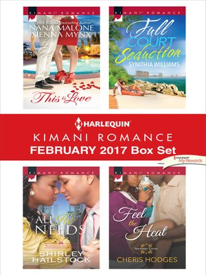 cover image of Harlequin Kimani Romance February 2017 Box Set