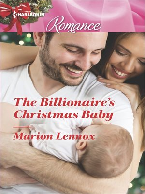cover image of The Billionaire's Christmas Baby