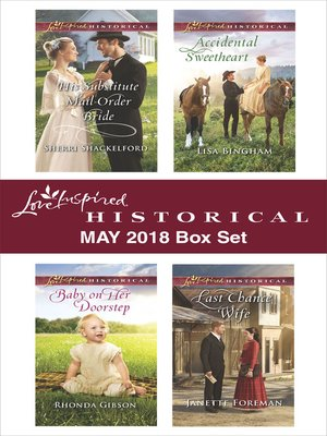 cover image of Love Inspired Historical May 2018 Box Set