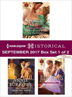 cover image of Harlequin Historical September 2017--Box Set 1 of 2