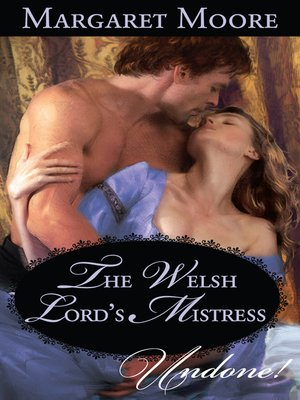 cover image of Welsh Lord's Mistress