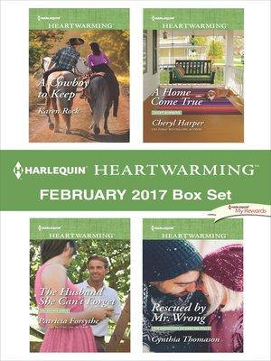 cover image of Harlequin Heartwarming February 2017 Box Set