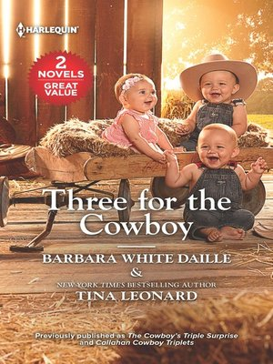 cover image of Three for the Cowboy