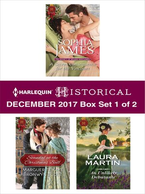cover image of Harlequin Historical December 2017--Box Set 1 of 2