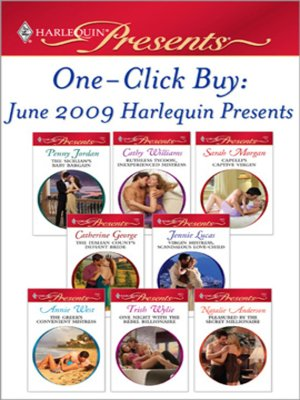 cover image of One-Click Buy: June 2009 Harlequin Presents