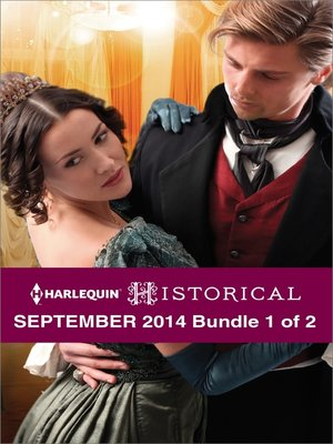 cover image of Harlequin Historical September 2014 - Bundle 1 of 2: The Lone Sheriff\The Gentleman Rogue\Never Trust a Rebel