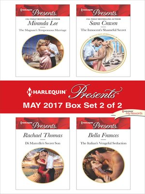 cover image of Harlequin Presents May 2017, Box Set 2 of 2