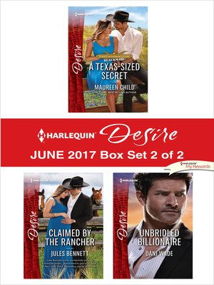 cover image of Harlequin Desire June 2017--Box Set 2 of 2