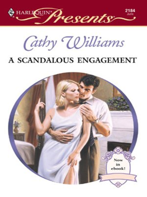cover image of A Scandalous Engagement