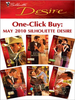 cover image of One-Click Buy: May 2010 Silhouette Desire