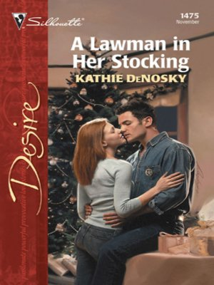 cover image of A Lawman in Her Stocking