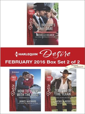 cover image of Harlequin Desire February 2016, Box Set 2 of 2