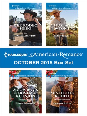 cover image of Harlequin American Romance October 2015 Box Set