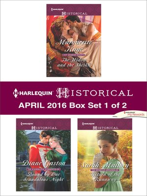 cover image of Harlequin Historical April 2016, Box Set 1 of 2