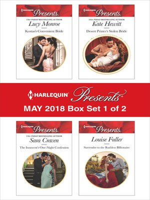 cover image of Harlequin Presents May 2018--Box Set 1 of 2