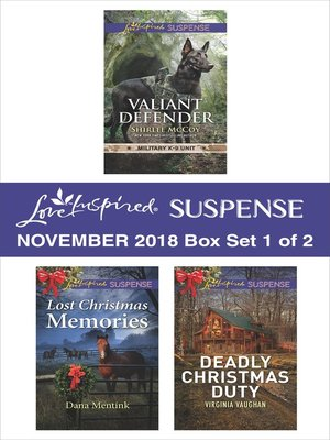 cover image of Harlequin Love Inspired Suspense November 2018, Box Set 1 of 2