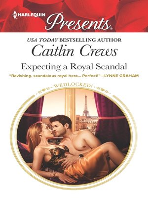 cover image of Expecting a Royal Scandal