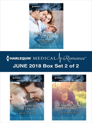 cover image of Harlequin Medical Romance June 2018--Box Set 2 of 2