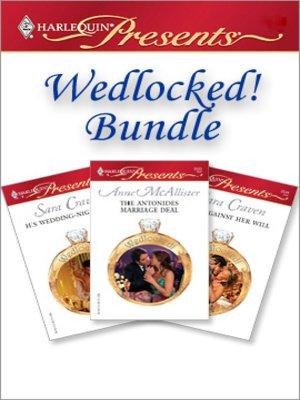 cover image of Wedlocked! Bundle