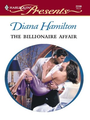 cover image of The Billionaire Affair