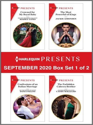 cover image of Harlequin Presents--September 2020--Box Set 1 of 2