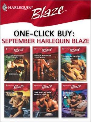 cover image of September Harlequin Blaze