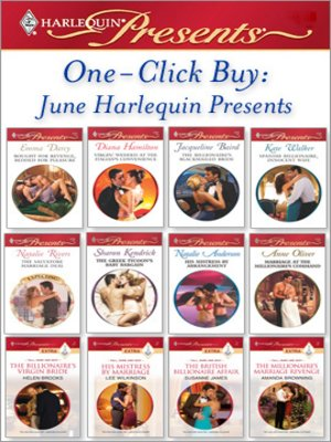 cover image of One-Click Buy: June Harlequin Presents