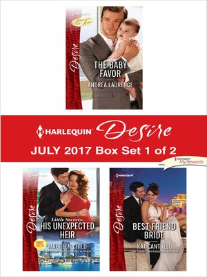cover image of Harlequin Desire July 2017--Box Set 1 of 2