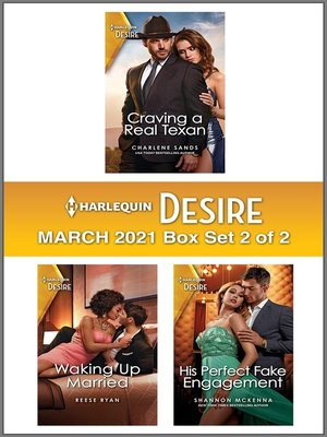 cover image of Harlequin Desire March 2021--Box Set 2 of 2