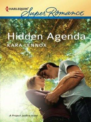 cover image of Hidden Agenda