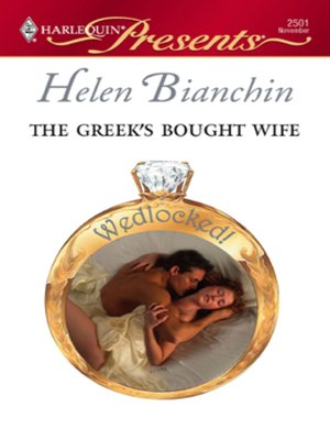 cover image of The Greek's Bought Wife