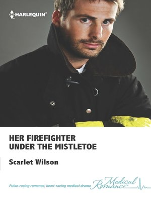 cover image of Her Firefighter Under the Mistletoe
