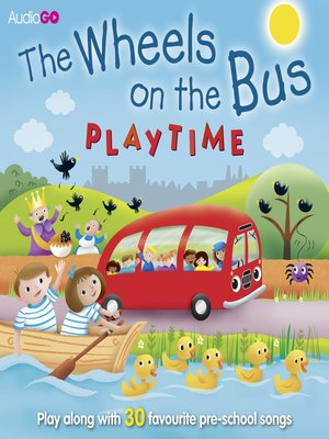 cover image of Wheels on the Bus Playtime