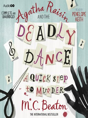cover image of Agatha Raisin and the Deadly Dance
