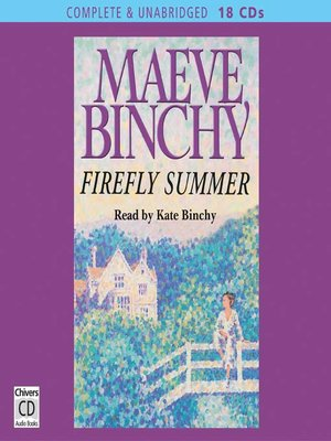 cover image of Firefly Summer