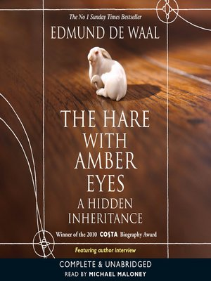 cover image of A Hare With the Amber Eyes