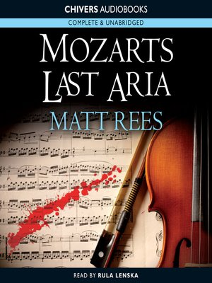 cover image of Mozart's Last Aria