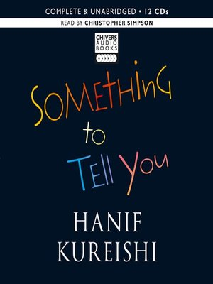cover image of Something to Tell You