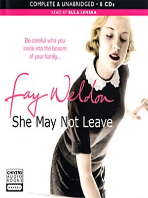 cover image of She May Not Leave