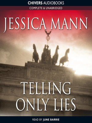 cover image of Telling Only Lies