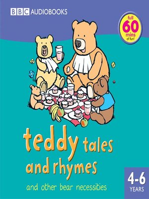 cover image of Teddy Tales and Rhymes