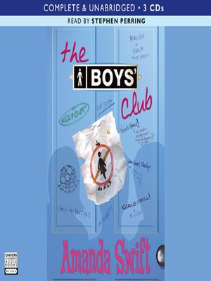 cover image of The Boys' Club