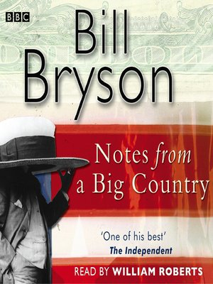 cover image of Notes from a Big Country
