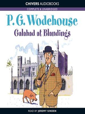 cover image of Galahad at Blandings