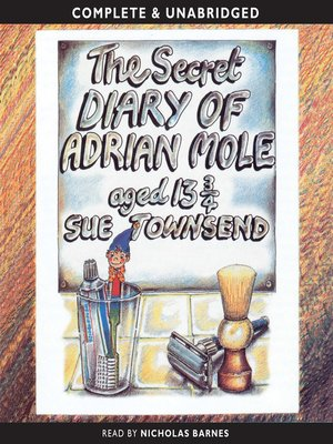 cover image of The Secret Diary of Adrian Mole